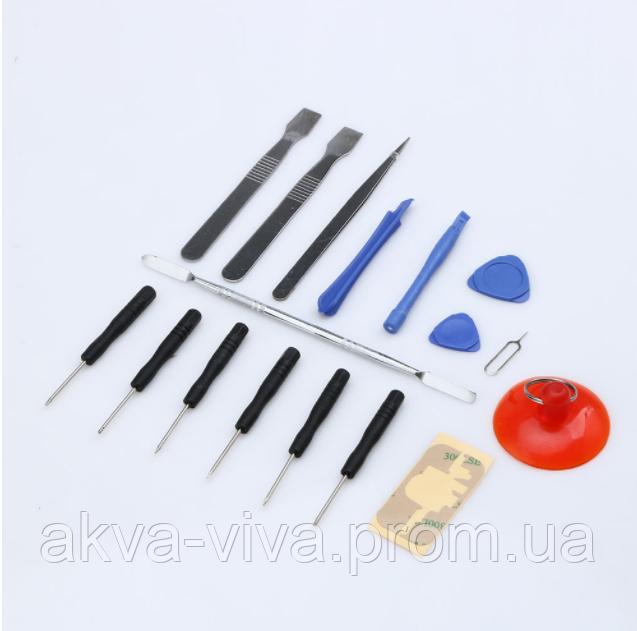 (17 в 1) Набор инструментов для ремонта мобильных телефонов (НИ-1009)