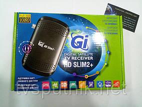 Спутниковый HDTV/ Mpeg4 тюнер Galaxy Inovation GI HD Slim 2+ (прошитый с каналами)