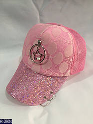 Женская бейсболка кепка со звездой блестки сетка недорого опт розница Одеса 7 км