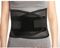 Бандаж для спины / поясницы. Черный , фото 1