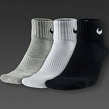 Носки спортивные 3 в 1 Nike 3ppk Cushion Quarter