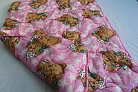 Одеяло в кроватку шерстяное., фото 1