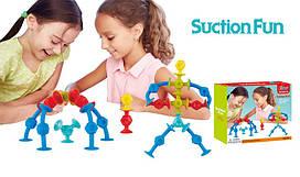 Конструктор-липучка Suction Fun 36 элементов