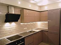 Кухня на заказ пластик, blum, фото 1