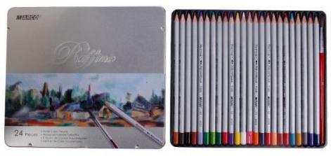 Акварельные карандаши Marco Raffine 24 цвета