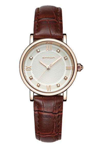 Женские часы Sanda 197 Brown White
