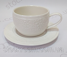 Чашка с блюдцем Krauff 21-252-033 фарфор 250 мл