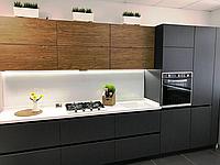 Кухня на заказ пластик ,шпон ,blum, фото 1
