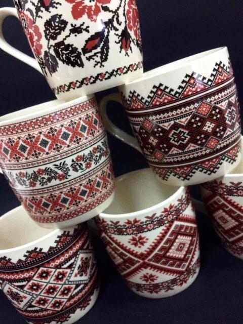 Чашка Вишиванка, 400 мл