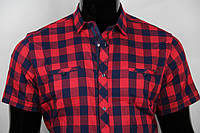 Рубашка мужская ANG 39680/39685 норма и батал, два кармана.