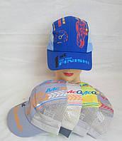 Кепка для хлопчика з регулятором з боків сітка р 52