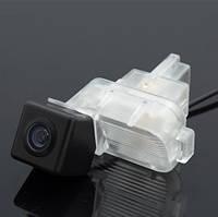 Камера заднего вида штатная для Mazda 6 2009-2014. Обзор 170°