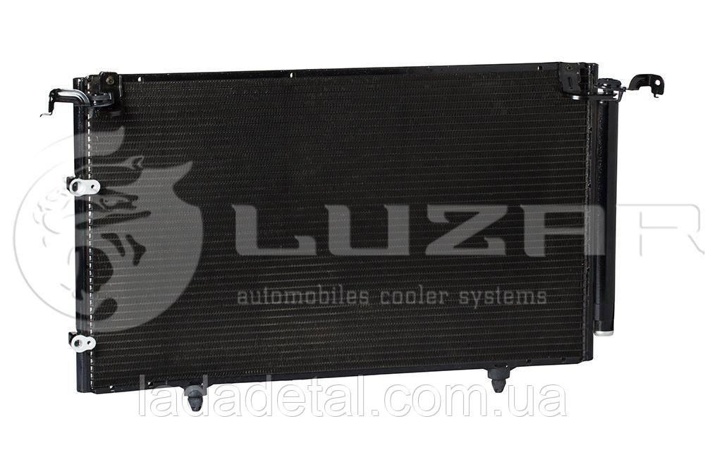 Радиатор кондиционера Тойота Кемри Toyota Camry 2.0/2.4 (01-) АКПП/МКПП (LRAC 1970) Luzar