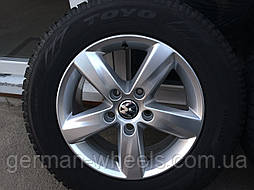 """Колеса ( комплект дисков и шин ) 17"""" для Volkswagen Touareg ( Фольксваген Туарег) стиль Atacama"""