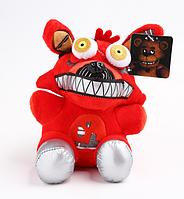 Мягкая игрушка 23 см. Фокси кошмарный 5 ночей с Фредди Аниматроники. Фнаф плюшевая