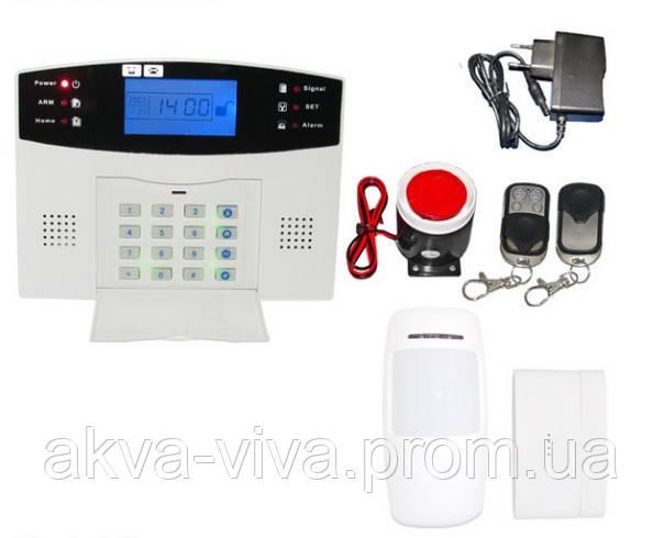 Комплекты Беспроводной GSM сигнализации ЖСМ-015 Оригинал вкоробке