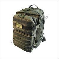 Тактический штурмовой туристический рюкзак 38 литров олива для военных, армии, нейлон