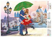 """""""Поцелуй в Венеции"""".  Схема для вышивки бисером."""
