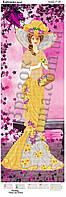 """Панно  """"Цветочная  Леди"""" для вышивки бисером."""