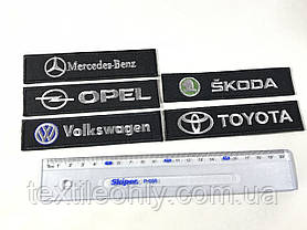 Нашивка Opel 120x30 мм, фото 2