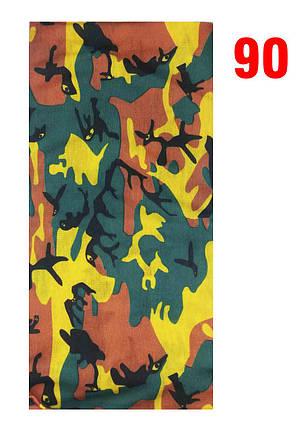 Бафф №90 (buff, баф, бандана, балаклава), фото 2