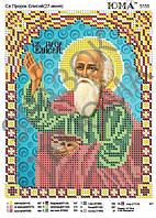 """""""Св. Пророк Елисей"""".  Схема  для вышивки бисером."""