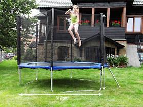 Батуты детские 305 см. (10 ft.) сетка и лесенка, фото 2
