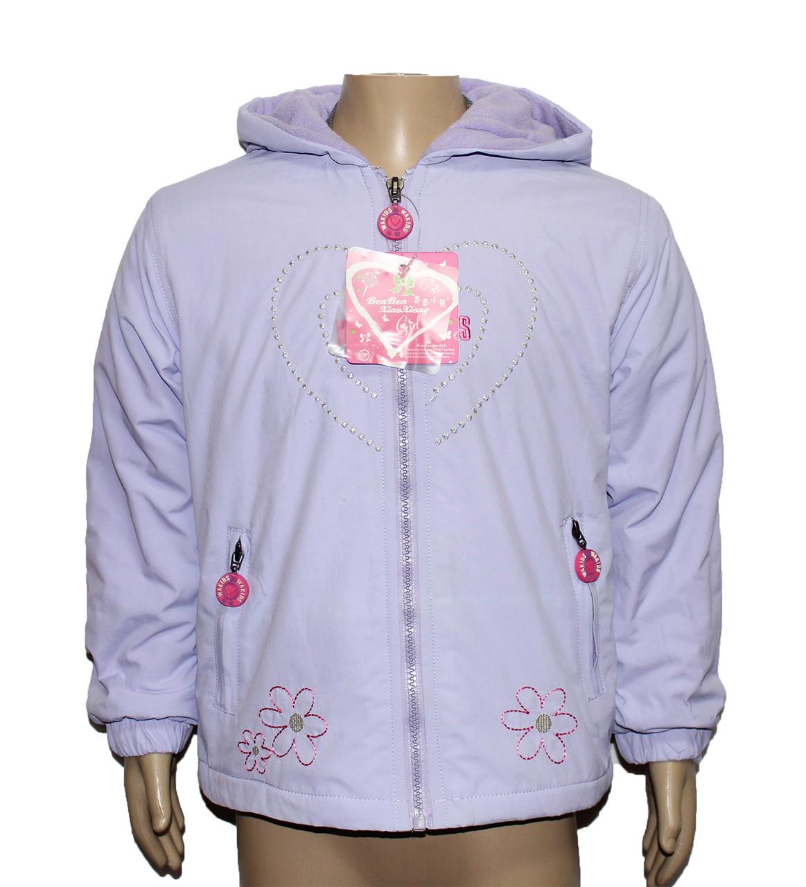 Курточка дитяча для дівчинки 20106