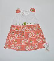 Платье для девочки, Akvar junior принт ромашки 8001, 86(р)