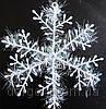 Снежинка, наклейка 20см, фото 1