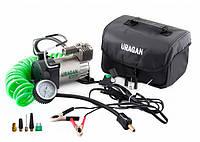 Автомобильный компрессор Uragan 90140 с зажимами АКБ