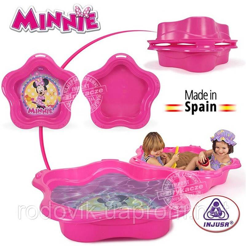 Песочница-бассейн Minnie Mouse Injusa 20422