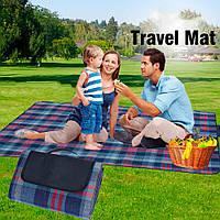 Коврик для пикника и пляжа, складной коврик водоотталкивающий