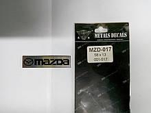 Надпись MAZDA металл  58х13 мм