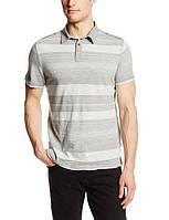 Серая футболка-поло Calvin Klein