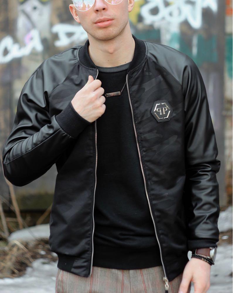 Бомбер Philipp Plein куртка весна