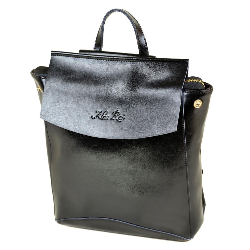 a4dad34de242 Женская сумка рюкзак трансформер из натуральной кожи. Стильные женские  рюкзаки