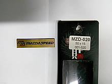 Надпись MAZDA SPEED металл  50х15 мм