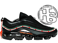 Мужские кроссовки Nike Air VaporMax 97 x Undefeated Black Gorge  Green White Red 480dfd8815a84