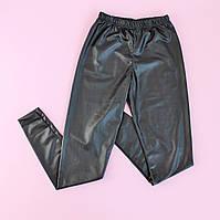 Лосины для девочки черные размер 140-10/164-14/176-16 лет