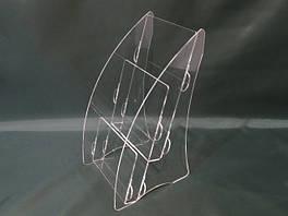 Підставки під буклети та поліграфію А5 формату