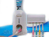 Автоматический дозатор зубной пасты и держатель щеток Kaixin KX-889