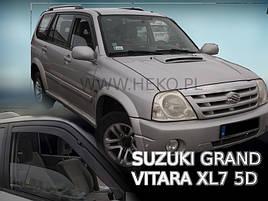 Дефлекторы окон (ветровики)   Suzuki Grand Vitara FT 1998-2005 5D 4шт(Heko)