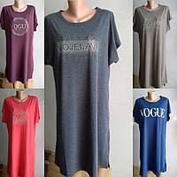 Платья-туники женские вискоза, 50-54 размер, фото 1