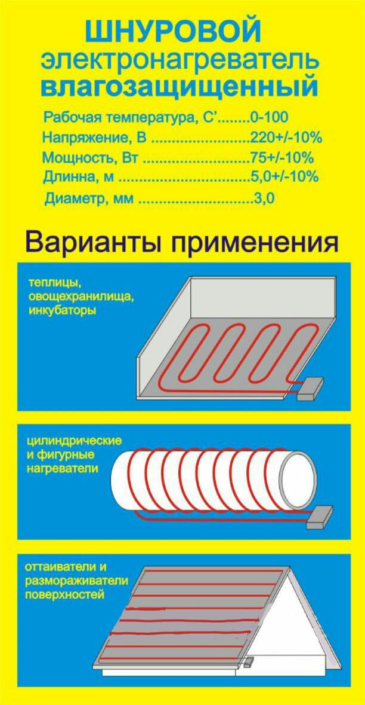 Тен для инкубатора