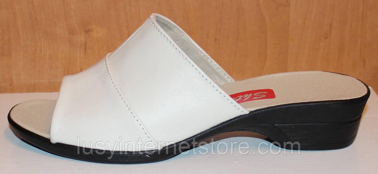 006008ffe Кожаные сабо на каблуке от производителя модель СТЛ20: продажа, цена ...