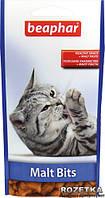 МАЛТ БИТЦ подушечки для выведения шерсти с желудка для кошек, 75таб (35гр), BEAPHAR, 12622