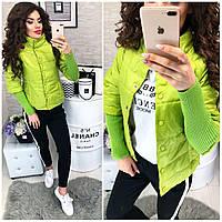 Куртка женская,  модель 205, лайм, фото 1