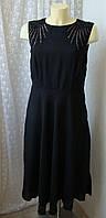 Платье черное вечернее с бисером Anna Field р.46 7730, фото 1