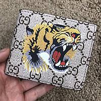 Кошелек Gucci Slender Wallet GG Supreme Tiger